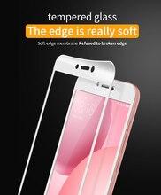 For Xiaomi Mi5C Glass Screen Protector , Lenuo CF Soft Edge 9H Full Tempered Glas Screen Protector For Xiaomi Mi 5C Glass Film
