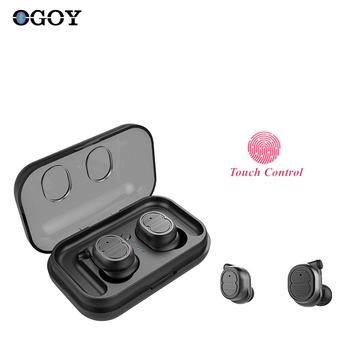 New i11s TWS Earbuds 5.0 Bluetooth Wireless Headphones Mini Sports Waterproof Earphones 3D Stereo Headset Touch Control with Mic