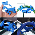 Blue Fish Aquarium Filtration Water Pipe Filter Hose Holder For Mount Tube Tank Accessories