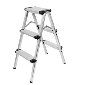 Meking Aluminum Construction Studio Step Ladder 80cm Working Height 120kg/265lb Load Capacity Photo Studio Fotografia Acessorios