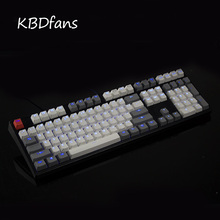 kbdfans 108 key PBT Double shot Translucidus Backlit Keycaps For Corsair K65 K70 Logitech G710 Mechanical Keyboard iso keys