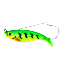 Купить с кэшбэком 1PCS 8cm 21.4g Fake Fish Lure Anti Grass Fishing Wobbler Artificial Bait Hard Lures Laser Body Lifelike Fish Tackle