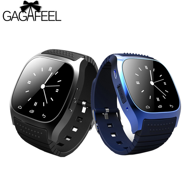 GAGAFEEL Life Waterproof Smart Watches with Dial SMS Remind Pedometer for Androi