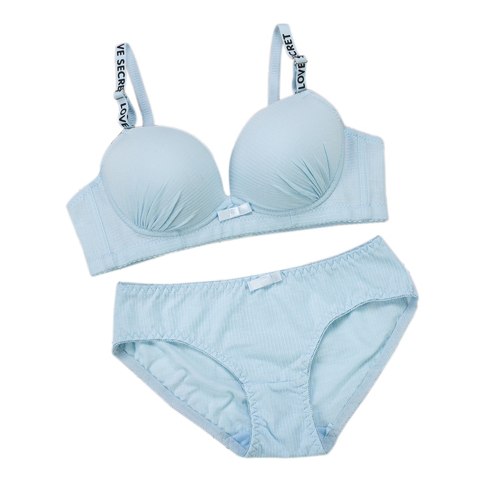 Girl Sexy Seamless Bra Set Small Chest Push Up Brassiere Suit Comfortable Quality Suits