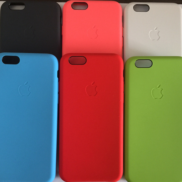 wholesale dealer 6123e dd6a6 US $19.95 |100% Authentic Genuine Official Silicone Case Cover For Apple  iphone 6 on Aliexpress.com | Alibaba Group
