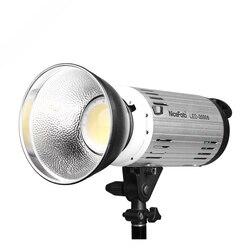 NICEFOTO LED-2000B technologia kolektora LED  temperatura barwowa: 5500k  regulacja mocy wyjściowej
