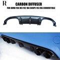 Диффузор заднего бампера M3 M4 MP из углеродного волокна для BMW F80 M3 Sedan F82 M4 купе и F83 M4  трансформер 12-19