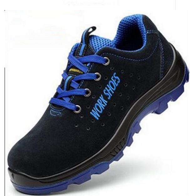 2018 Mens Breathable Steel Toe Safety Shoes with Puncture Proof Midsole Slip Resistance Light Weight Work Boot size 35--50