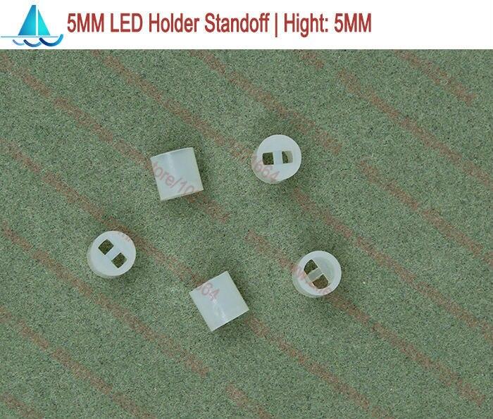 Led-Lamp-Holder Light Support-Standoffs Spacer 200pcs/Lot Emitting-Diode 5MM