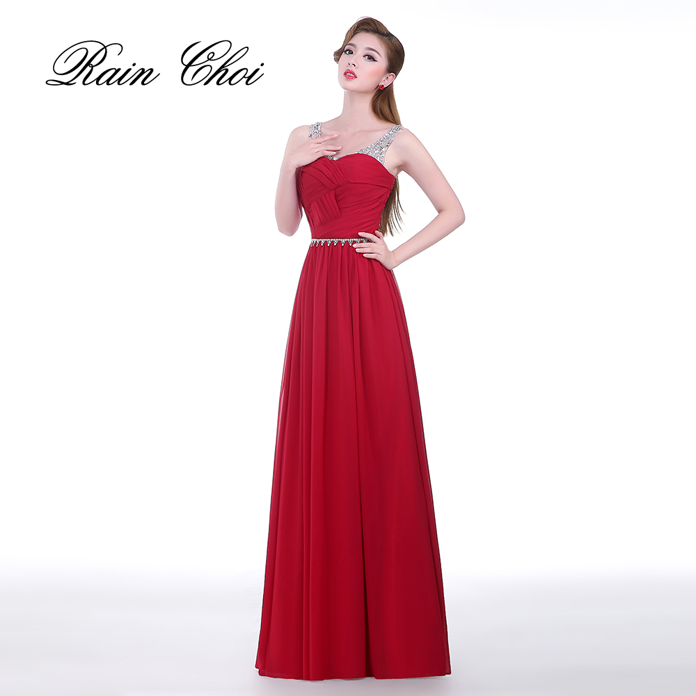 New Arrival Charming Elegant Long Fromal Evening Dress Celebrity Gowns Chiffon Evening Dresses
