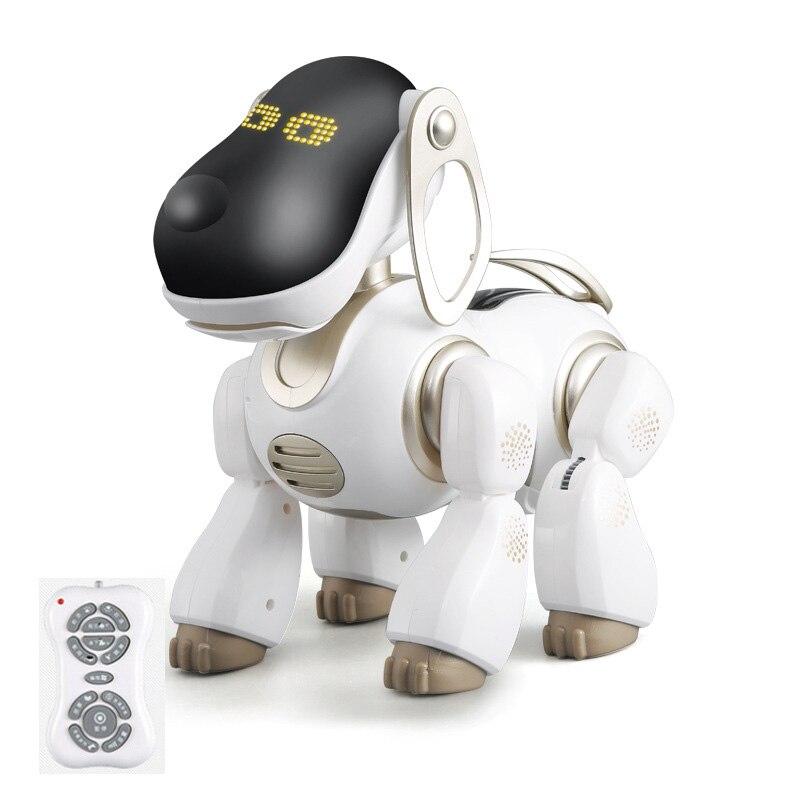 Intelligent Robot chien télécommande rc chien peut parler parler parler chanter jouer avec enfant enfant meilleur cadeau jouet ami jouer jouets