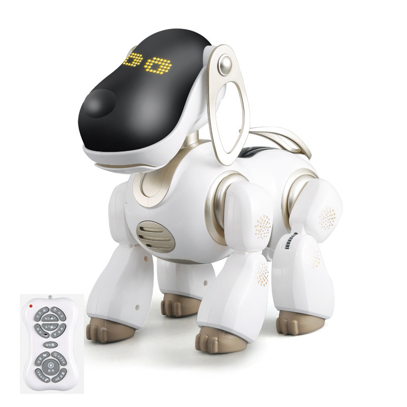 Intelligent Robot dog remote control rc dog can speaking talking singing playing with child kid best gift toy friend play toys image