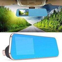 Cheapest prices Car DVR Camera Rearview Mirror Auto Dvrs Dual Lens Dash Cam Video Registrator Camcorder Full HD 1080p Night Vision Car Camera