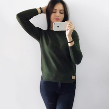 NELLBANG 2017 new spring Korean Short all-match winter sweater knitted shirt with long sleeves loose women sweater pullover