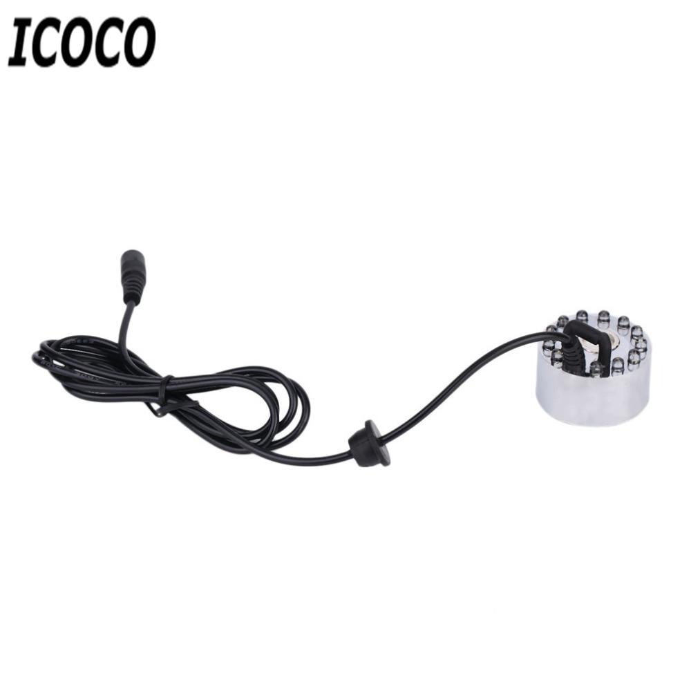 ICOCO New High Quality 12 LED Coloful ուլտրաձայնային - Արտաքին լուսավորություն - Լուսանկար 3