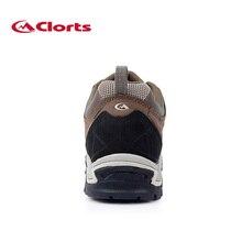 Clorts Men Autumn Winter Trekking Shoes
