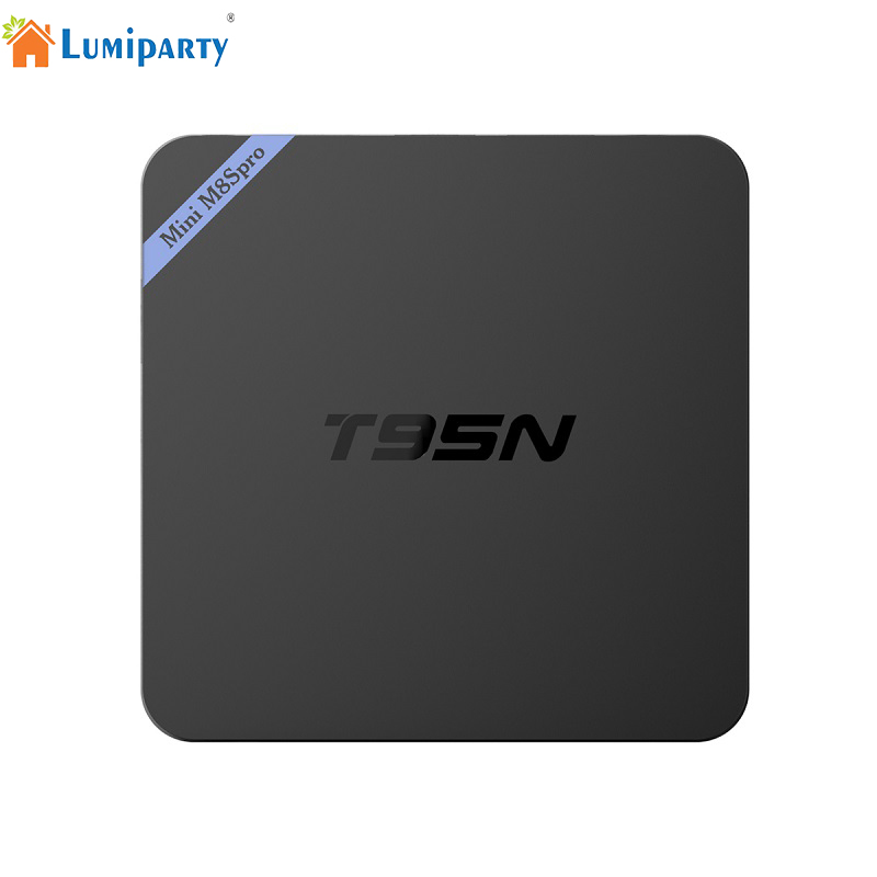 Lumiparty T95N Mini M8S PRO Android TV Box 2GB 8GB Quad Core Amlogic S905X UHD 4K Smart TV Box Miracast DLNA TV Set-top box new t95n mini m8s pro android 6 0 tv box s905x quad core bluetooth wifi 16 0 2g 8g memory smart set top box emmc ddr3