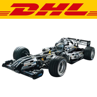 New 1486Pcs Yile 303 The Ultimate Sliver Champion F1 Racing Model Building Kits Figures Blocks Bricks Toy Gift Compatible 8458