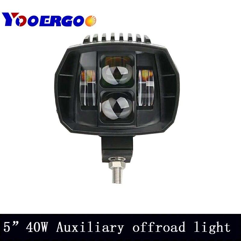 1pcs 40W led headlight 5inch New Led Driving Light 12V 24V led fog light used for