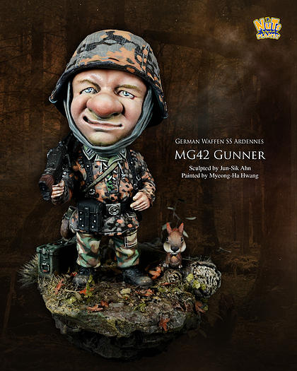 NP 003 1/32 SD World War II German Armed SS Gunner world war ii german wwii wehrmacht