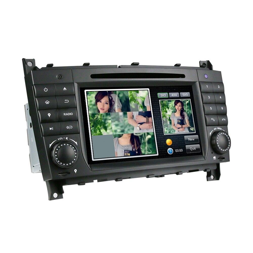 Eunavi Neue 2 Din Auto Dvd Playe Für Benz C Klasse W203 C180 C200 C220 C230 C240 C250 C270 C280 c300 C320 C350 C32 Amg C55 C63