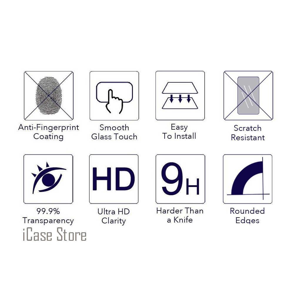 2.5D 0.26mm 9 H Độ Cứng Phía Trước Điện Thoại Tempered Glass Đối Với Samsung Samsuns Galaxy Đại Duos GT I9082 I9082I GT-I9082 I 9082