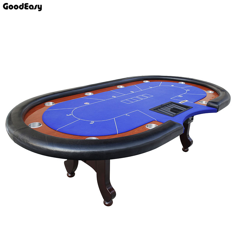 280 140cm 6colors Casino Poker Table Texas Hold Em Baccarat Square