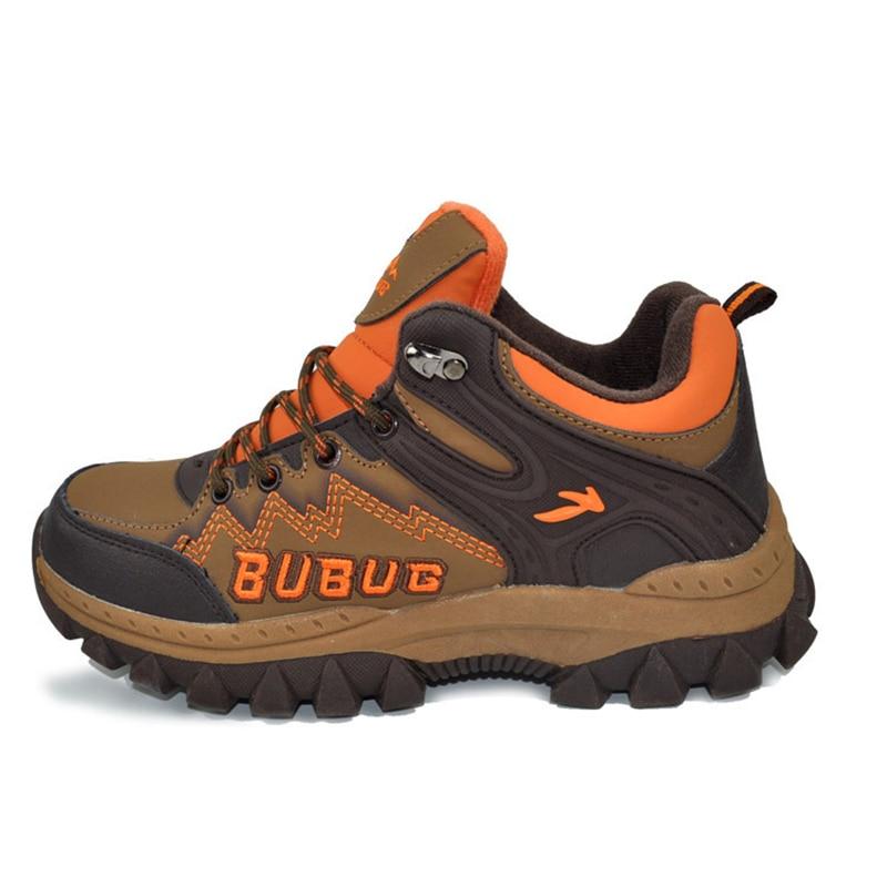 Big Size Children Winter Cotton Shoes Kids Fashion Comfortable Boys Kid Sport Breathable Plush Warm