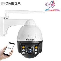 INQMEGA 1080P PTZ IP Camera Auto Tracking Outdoor Onvif Waterproof Mini Speed Dome Camera 2MP IR 30M P2P CCTV Security Camera