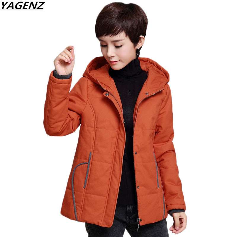Plus Size 4XL Female Basic Coats 2017 Winter Cotton Jacket Thicken Warm Mothers Clothing Hooded High Quality Short Outwear K606 women s hooded cotton padded jacket warm winter short down jacket plus size slim women basic coats female winter style outwear
