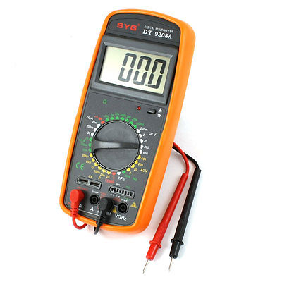 Electrical AC DC Volt Amp Ohm hFE Temp Freq Diode Capacitor Test Analogue Multimeter w Lead мультиметр multimeter 5818 ac dc w