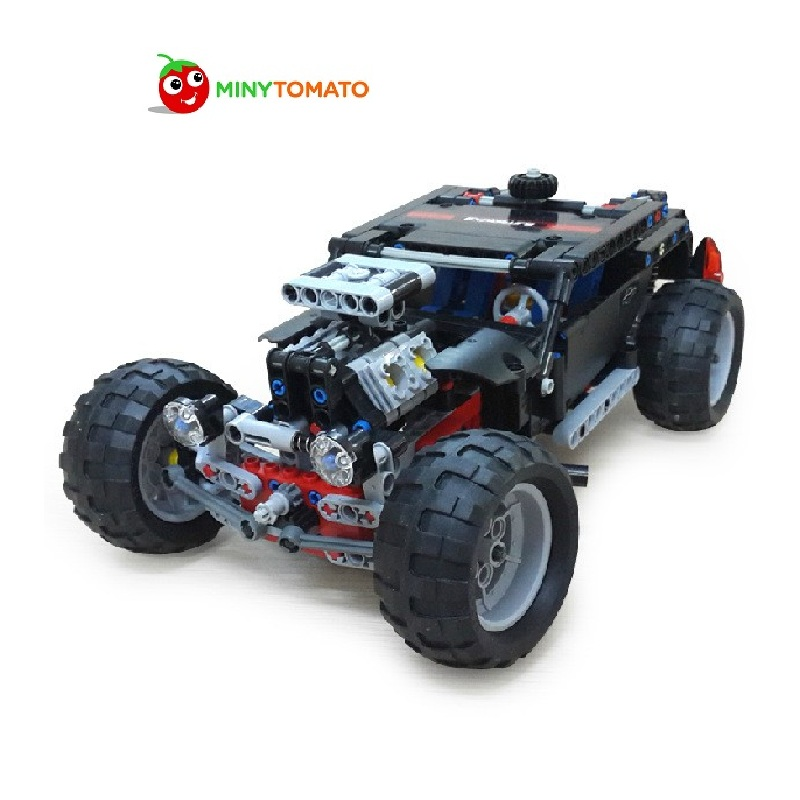 Free Shipping Decool 3340 Hammer Car DIY Building Blocks Self Locking Bricks Best Gift Learning&Education Toys For Children educational toys self locking bricks grandpa s farm set quality abs big building blocks funny diy toys boys girls best gift