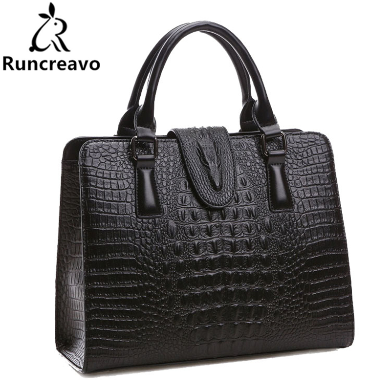 Crocodile Pattern Genuine Leather Bag Women Shoulder Bags Luxury Handbags Women Bags Designer Famous Brands High Quality yirenfang crocodile pattern women messenger bags handbags women famous brands leather luxury shoulder bags for women designer