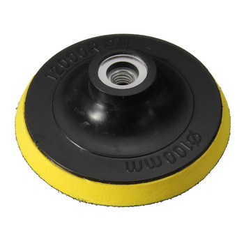 цена на M10 M14 Backing Pad Car Polisher Bonnet Holder 34567inch Angle Grinder Wheel Sander Paper Disc Car Polishing Polisher