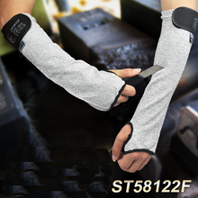 anti cut sleeve top cut outdoor self defense arm sleeves knife glove HPPE cut resistance proof sleeve все цены