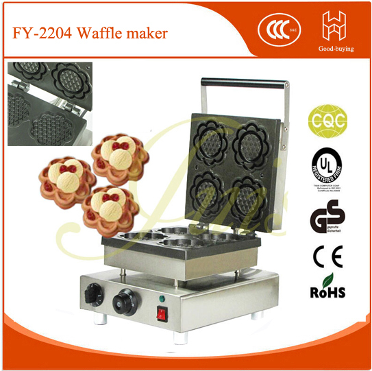 freeshipping Kitchen Baking cake mold machine breadfast machine Sunflower shape waffle maker