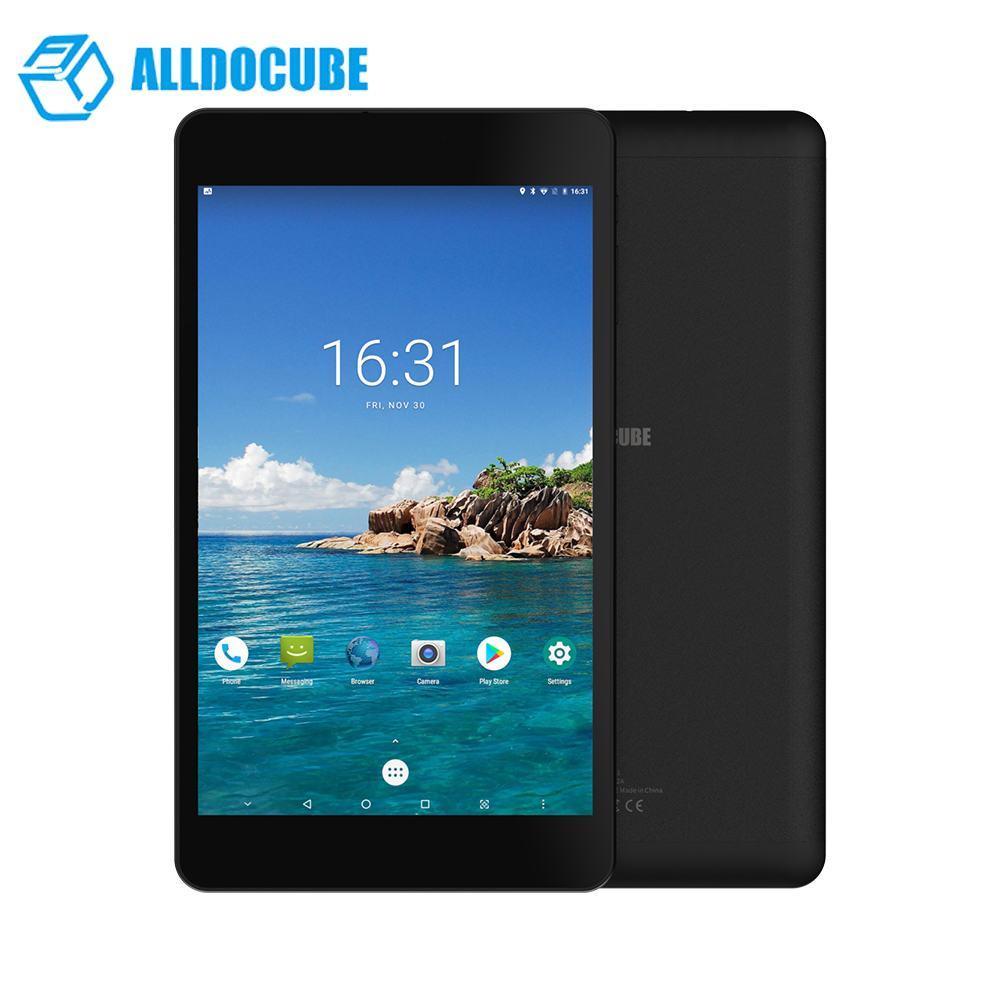 Boîte d'origine Alldocube M8 3GB RAM 32GB ROM MT6797X Helio X27 Deca Core 8 pouces Android 8.0 double 4G tablette 1920*1200