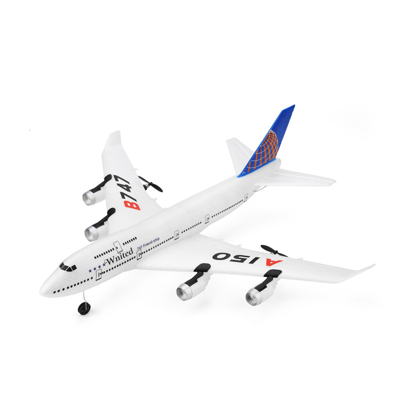 WLtoys XK A150 YW Boeing B747 510mm Wingspan 2.4GHz 3CH EPP RC Airplane Fixed Wing RTF Scale Aeromodelling Outdoor Toys For BoyWLtoys XK A150 YW Boeing B747 510mm Wingspan 2.4GHz 3CH EPP RC Airplane Fixed Wing RTF Scale Aeromodelling Outdoor Toys For Boy