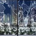 1 52x20 м 2mil прозрачная Солнцезащитная оконная пленка стекло взрывозащищенное окно оттенок самоклеящееся прозрачное защитное окно винил