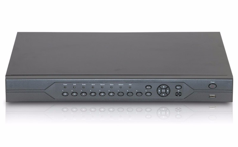 1CH RCA Audio output H.265 5mp 16CH 16 Channel POE Onvif Surveillance IP Camera NVR picture 02