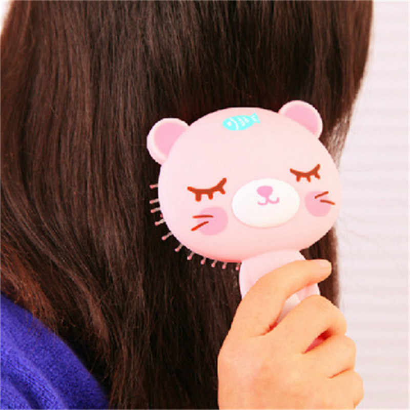 New Cartoon Massage Air Cushion Comb Cute portable creative fashion lovely Hair Brush