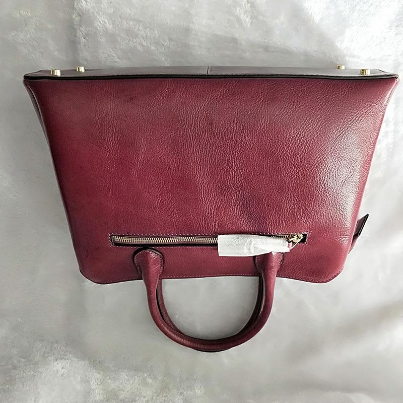 Leder Handtasche Hand Echtes Violet Kuh Top Schicht Taschen Für Hohe Neue Mode 2019 Frau Frauen Damen Qualität Tasche HUdaPxqwH