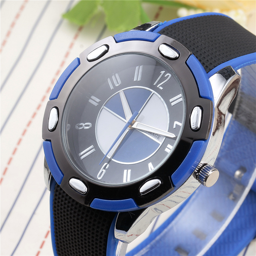 New Brand Fashion Casual Quartz Watch Men Silicone Sports Military Watches Relogio Masculino Male Clock Wristwatches Blue Hot hot selling led avionics sports watch women and men high quality silicone watches fashion students watch new relogio masculino