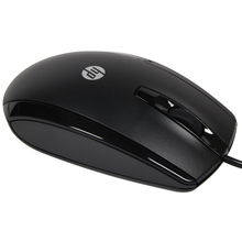 HP X500 Optical Wired USB Mouse Black Professional Pro Mouse Computer Mice for Windows XP Vista 7 8 10  PC Laptop