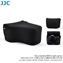 JJC aparat cyfrowy kolorowa torba 148mm (szer.) x 113mm (wys.) x 188mm (D) duża torba DSLR neoprenowy duży futerał do Canon Nikon