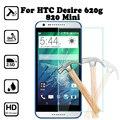 Для Htc Desire 620 620G/820 Mini 5.0 дюйм(ов) экран протектор закаленное стекло крышки Для htc desire 620g dual sim случае
