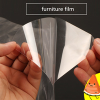 1.52x6m 2Mil Transparent explosion proof glass Furniture Table Sticker room window stickers protective film oil proof
