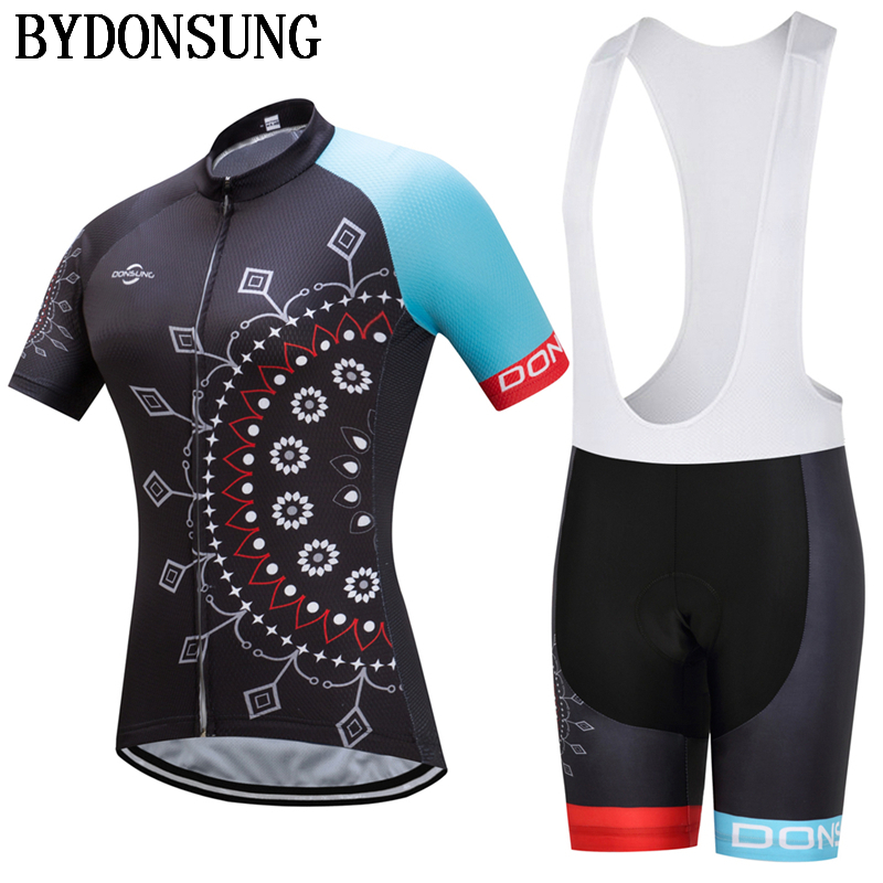 Brand Pro Cycling Set Short Sleeve Cycling Set Women MTB Bike 3D Gel Pad Outdoor Sport Wears Cycling Clothing Maillot Ciclismo