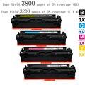 Горячая 4pk Совместимы для HP 201X-CF400X, CF401X, CF402X, CF403X High Yield Тонер-Картридж для HP Color LaserJet Pro, принтеры