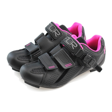 Female Cycling shoes professional breathable bike  Road Bicycle shoes Black Triathlon shoes F-15